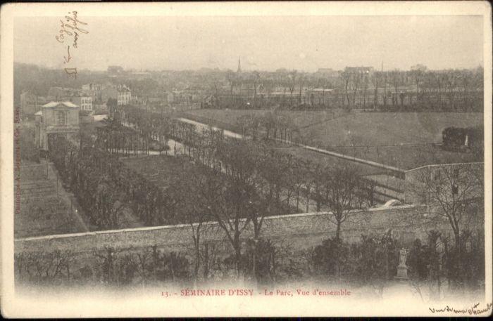 Issy-les-Moulineaux Seminaire Le parc  * / Issy-les-Moulineaux /Arrond. de Boulogne-Billancourt