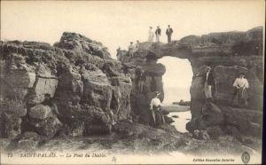 Saint-Palais-sur-Mer Saint-Palais le Pont du Diable * / Saint-Palais-sur-Mer /Arrond. de Rochefort