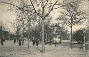 ws85545 Liege Luettich Liege le Boulevard d'Avroy * Kategorie. Luettich Alte Ansichtskarten