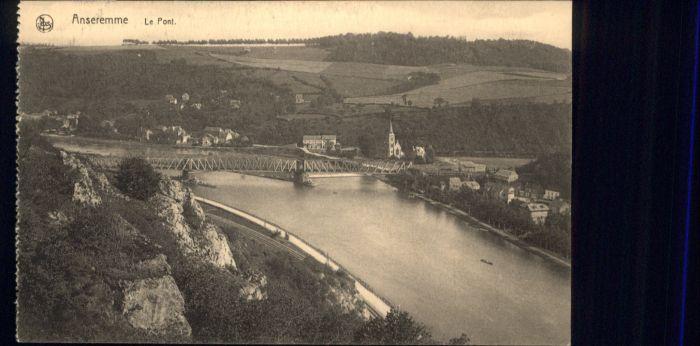 Anseremme le Pont *