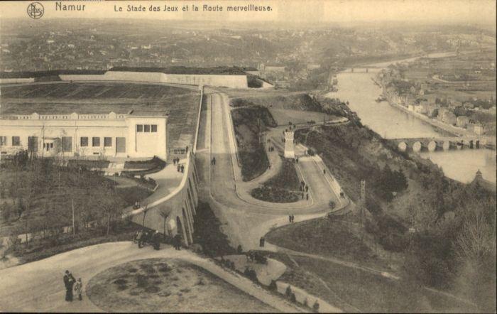 Namur la Stade des Jeux la Route merveilleuse *