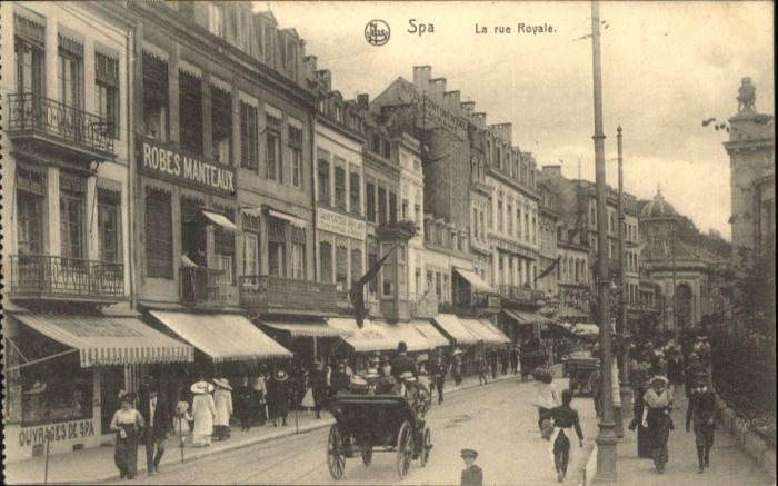 Spa la rue Royale x