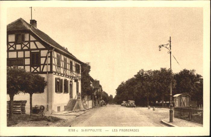 Saint-Hippolyte Haut-Rhin les Promenades * / Saint-Hippolyte /Arrond. de Ribeauville