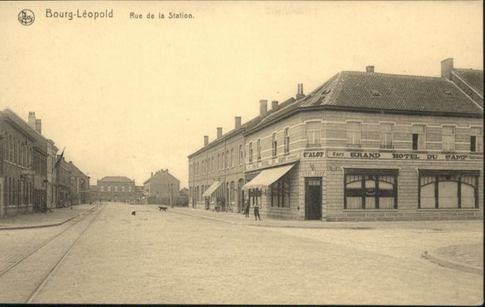 Bourg-Leopold Rue Station *