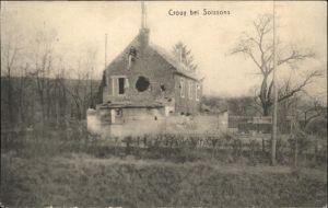 Crouy Aisne Soissons Zerstoerung x / Crouy /Arrond. de Soissons