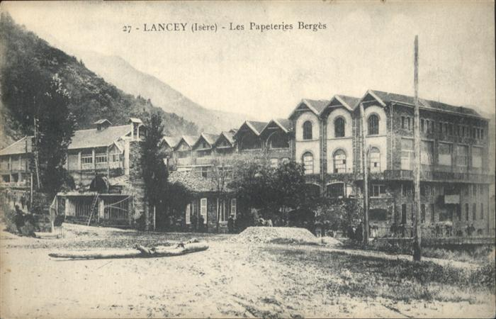 Villard-Bonnot Lancey Isere Papeteries Berges * / Villard-Bonnot /Arrond. de Grenoble