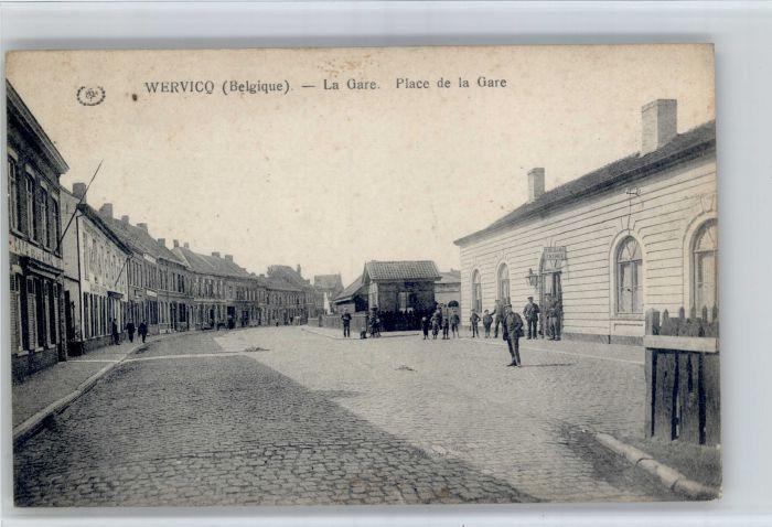 Wervik Wervik La Gare Place de la Gare * /  /