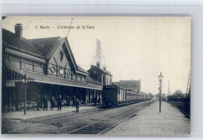 Menen Menen Interieur la Gare Zug * /  /