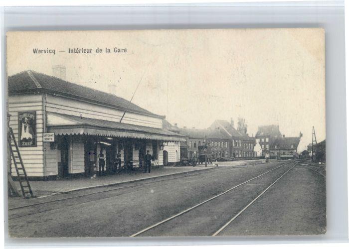 Wervik Wervik Interieur de la Gare x /  /