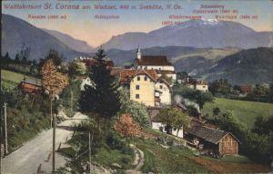 St Corona Wechsel  / St. Corona am Wechsel /Niederoesterreich-Sued