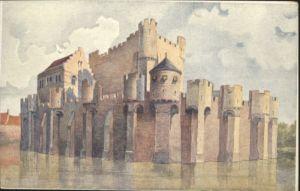 Gent Gand Flandre Gent Gand Het Gravenkasteel Chateau Comtes * /  /