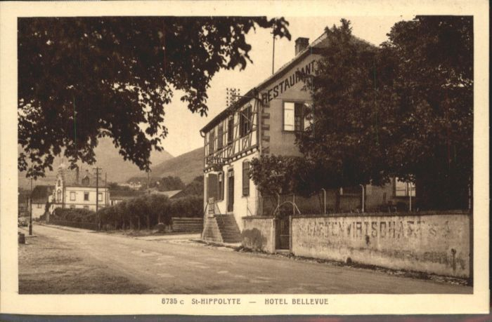 Saint-Hippolyte Haut-Rhin Hotel Bellevue * / Saint-Hippolyte /Arrond. de Ribeauville