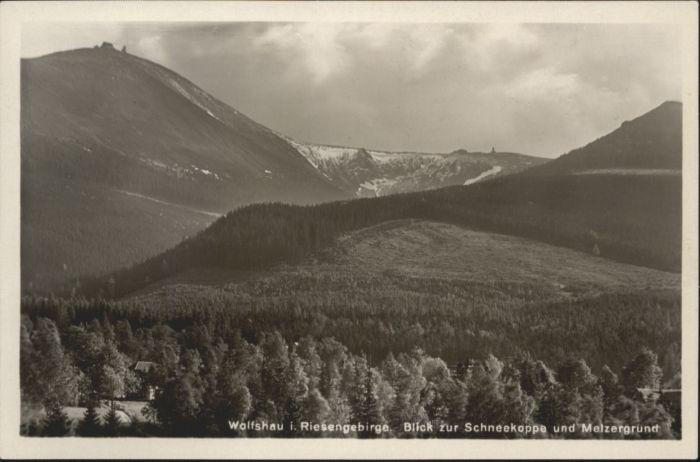 Wolfshau Riesengebirge Schneekoppe Melzergrund *
