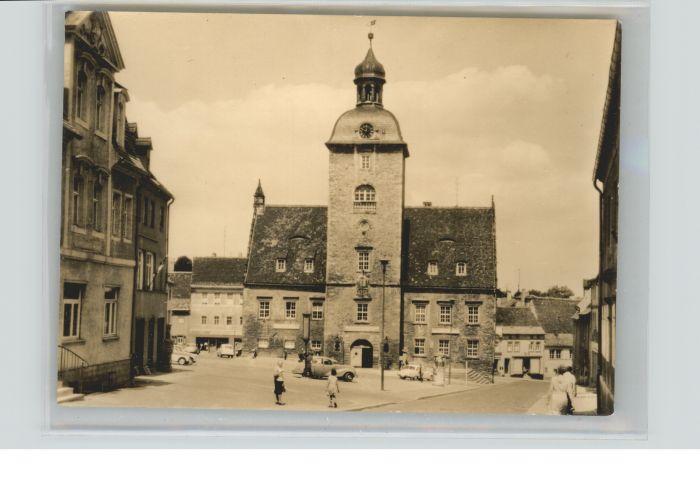 Querfurt Querfurt Rathaus * / Querfurt /Saalekreis LKR