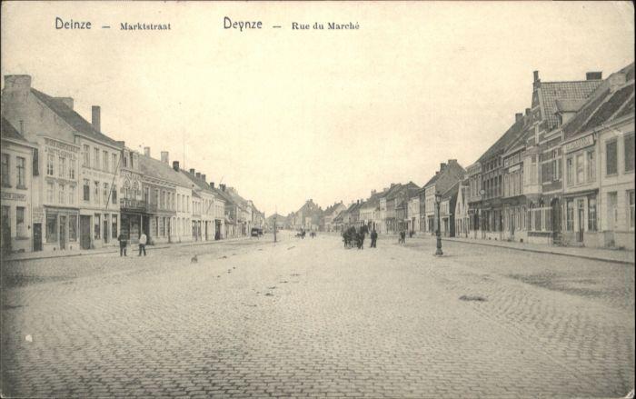 Deinze Deynze Marktstraat Rue Marche x