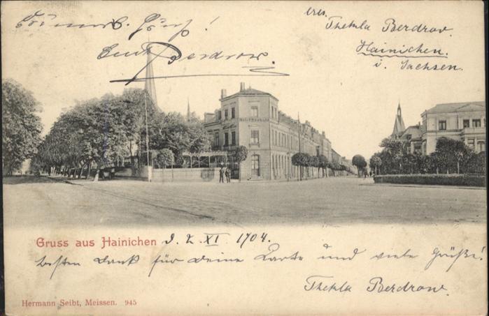 Hainichen Sachsen  / Hainichen Sachsen /Mittelsachsen LKR