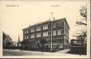 Hainichen Sachsen Technikum * / Hainichen Sachsen /Mittelsachsen LKR