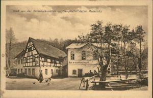 Gauernitz Schiebocksmuehle Dampfschiffstation * / Klipphausen /Meissen LKR