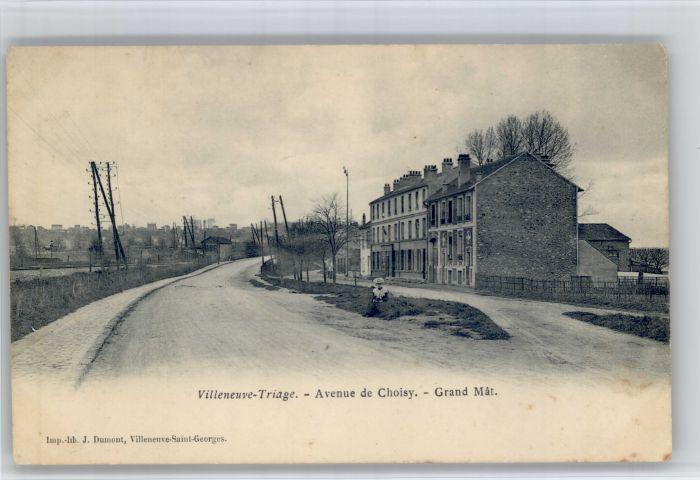 Villeneuve-Saint-Georges Villeneuve-Triage Avenue Choisy Grand Mat x / Villeneuve-Saint-Georges /Arrond. de Creteil