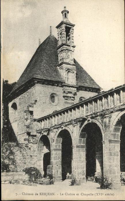 Saint-Vougay Chateau de Kerjean / Saint-Vougay /Arrond. de Morlaix