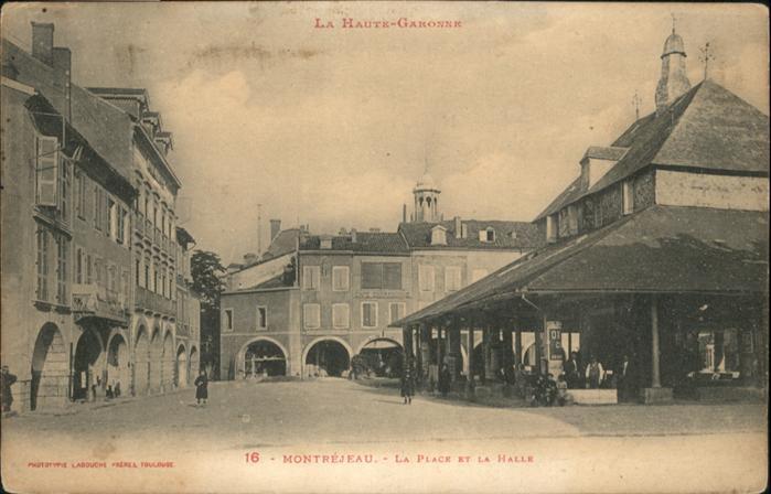 Montrejeau Haute-Garonne Montrejeau Place la Halle * / Montrejeau /Arrond. de Saint-Gaudens
