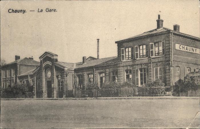 Chauny Aisne Gare x / Chauny /Arrond. de Laon