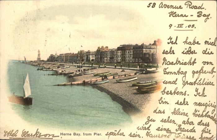 Herne Bay Herne Bay Boot x / City of Canterbury /