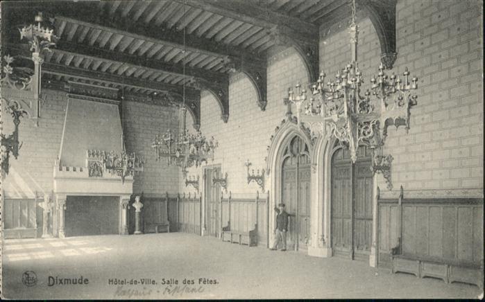 Dixmude Hotel de Ville Salle des Fetes *