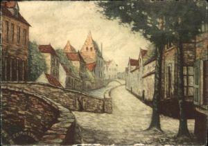 wb10573 Bruges Flandre Bruges  * Kategorie.  Alte Ansichtskarten