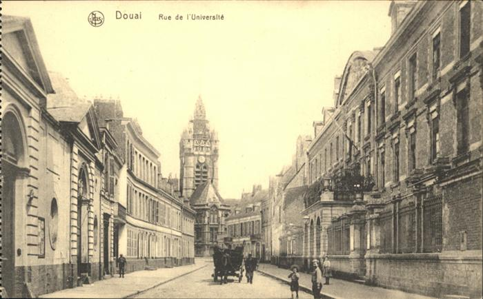 Douai Rue de l'Universite *