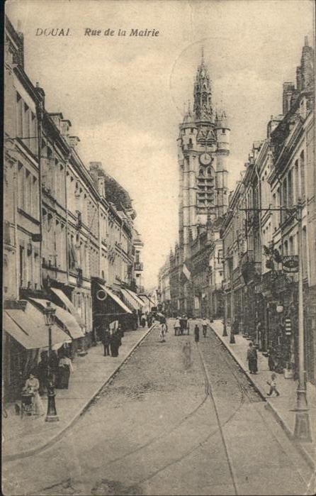 Douai Rue de la Mairie x