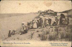 Westende Villa Scolaire Colonie Dunes *