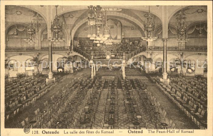 Ostende Flandre La salle des fetes du Kursaal Kat.