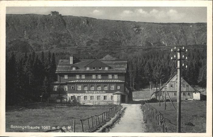 Schlingelbaude Prinz Heinrich Baude Riesengebirge