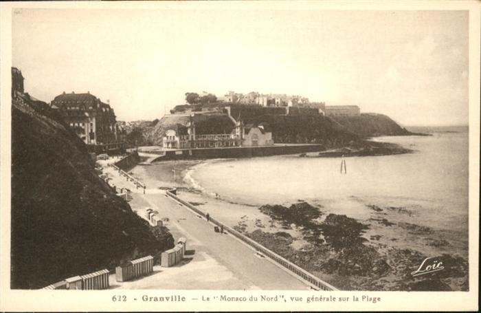 Granville Manche La Plage / Granville /Arrond. d Avranches