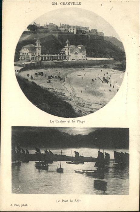 Granville Manche Le Casione et la Plage / Granville /Arrond. d Avranches