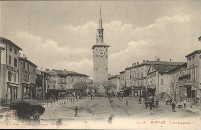 Romans-sur-Isere Place Jacquemart / Romans-sur-Isere /Arrond. de Valence