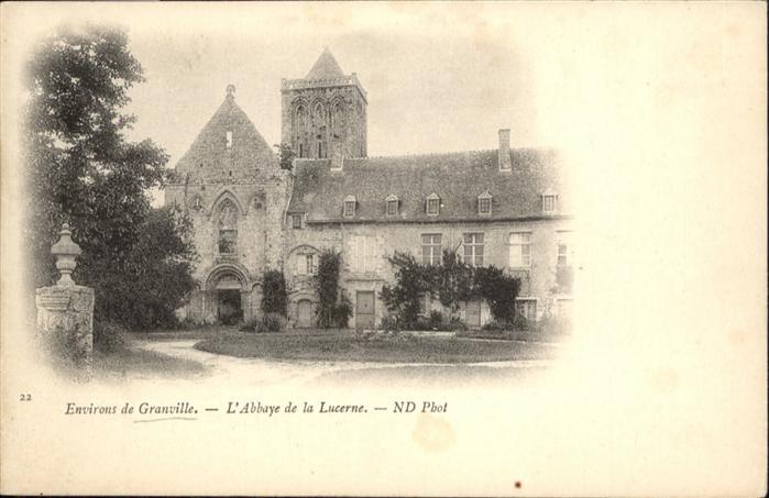 Granville Manche L'Abbaye de la Lucerne / Granville /Arrond. d Avranches