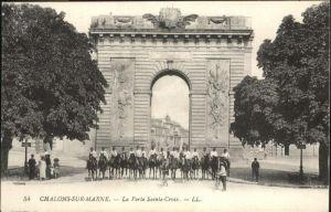Chalons-sur-Marne Ardenne La Porte Sainte-Croix / Chalons en Champagne /Marne