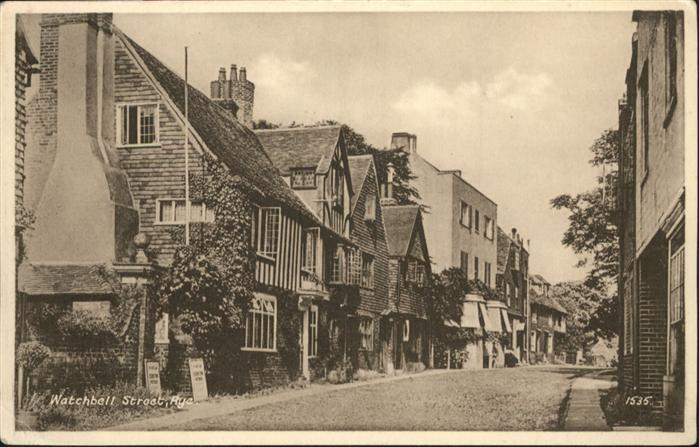 Rye East Sussex Watchbell Street / East Sussex /Rother