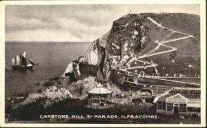 Ilfracombe North Devon Capstone Hill Parade Schiff / North Devon /Devon CC