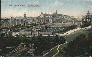Edinburgh Castle / Edinburgh /Edinburgh