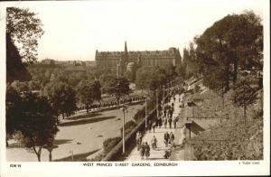 Edinburgh West Princes Street Gardens  / Edinburgh /Edinburgh