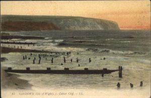 Sandown Isle of Wight Isle of Wight Culver Cliff / Isle of Wight /Isle of Wight