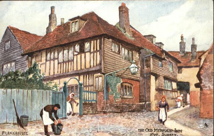 Rye East Sussex Old Mermaid Inn Sussex / East Sussex /Rother