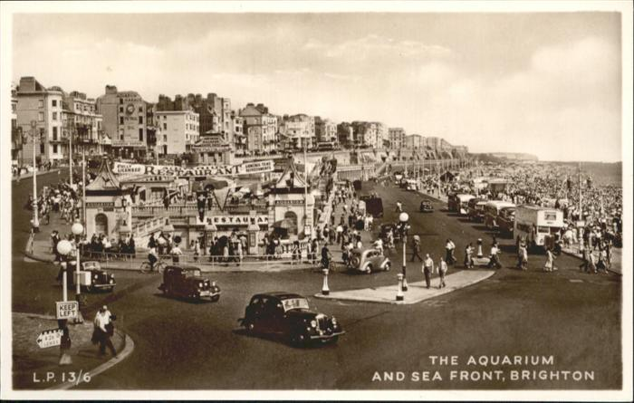 Brighton East Sussex Aquarium Sea Front /  /