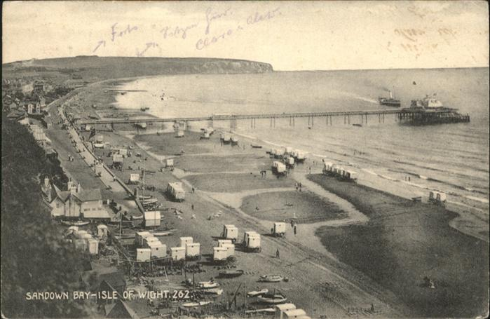 Isle of Wight UK Sandown Bay / Isle of Wight /Isle of Wight