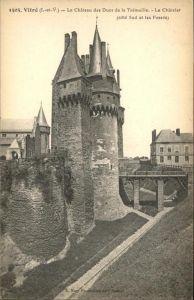 Vitre d Ille-et-Vilaine Chateau des Ducs / Vitre /Arrond. de Rennes