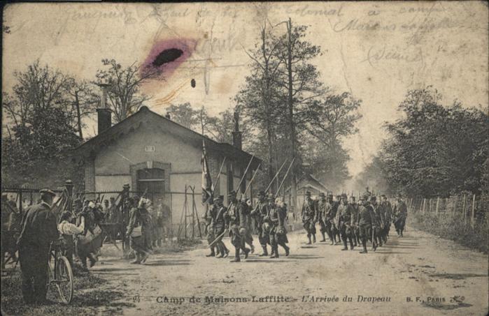Maisons-Laffitte Camp de maison Laffitte / Maisons-Laffitte /Arrond. de Saint-Germain-en-Laye
