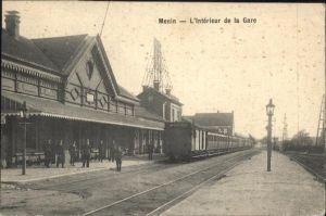Menin L`Interieur de la Gare /  /